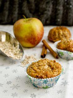 Pradobroty: Muffiny s ovesnými vločkami a jablky