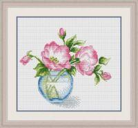 "Gallery.ru / BelleBlue - Альбом ""Цветы 4"" Decorative Plates, Cross Stitch, Floral, Flowers, Garden, Projects To Try, Punto Croce, Crossstitch, Garten"
