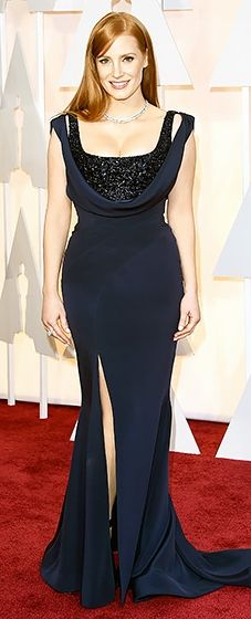 Jessica Chastain: Givenchy Haute Couture