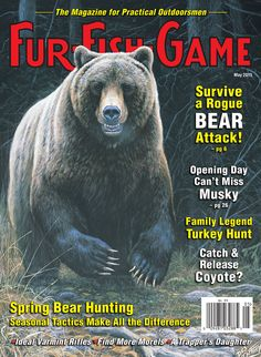 Fur fish game magazine covers on pinterest december for Game and fish magazine