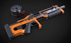 ArtStation - Komodo Assault Shotgun, Aberiu (Alex)