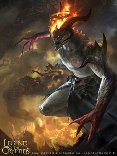 Image result for cryptids hell king