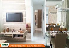 Apartamento decorado 2 quartos do Jardim dos Coqueiros no bairro Maurício de Nassau - Caruaru - PE - MRV Engenharia.