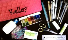 "New to Art Journaling   Here are some basics if you are just getting started!      Basic Art Journal Kit  A journal (see this post on choosing a journal)  Watercolor  Crayons/oil pastels  Scissors (or ruler)  Glue stick  White acrylic paint  Markers/gel pens  Pencils (colored and regular)  Papers (lots of textures)   Ephemera bag (or mine's bag)  {An ephemera bag is a bag of ""the good stuff."" Papers, images, and miscellanea to use in your art journal. In our house we call it a ""mine's bag.""}…"