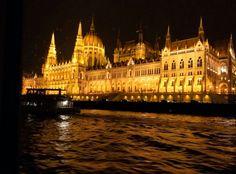 Night in Budapest.