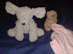 Found on 22 Dec. 2015 @ Regent Arcade, Cheltenham Town Centre, . Found these two well loved toys at Regent Arcade today. One was in the car park and the other was near the pay machine. I hope we can get them to their homes for Christmas. Visit: https://whiteboomerang.com/lostteddy/msg/dsmh2i (Posted by Ann on 22 Dec. 2015)