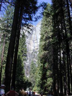 Yosemite Falls - Wasserfall  Yosemite National Park