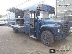 bus food truck conversion - Google Search