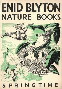 Manuels anciens: Enid Blyton, Nature books : Round the Year (Spring, Summer, Autumn, Winter)