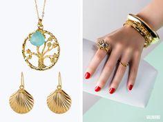 Valmano de schmuck  ☆ #Trendscope:# Schmuck mit raffinierten #Golddetails verleiht ...