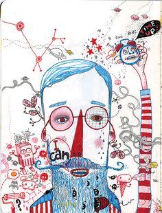 Jim Bradshaw Illustration: Moleskine therapy.