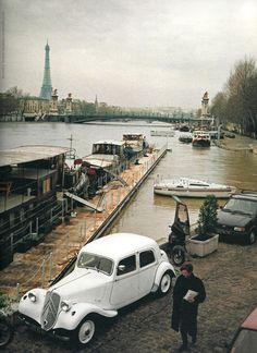 mimbeau:  The Seine Paris 1988 Dorothy Bohm