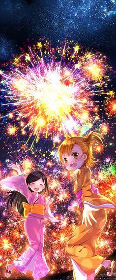 hina and Naru- Barakamon Anime Kimono, Kyushu, Pretty Girl Images, Baka To Test, Barakamon, Cg Artwork, Character Wallpaper, Latest Hd Wallpapers, Free Anime