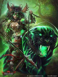 Black Panther Stage 4 by Trefle-Rouge.deviantart.com on @deviantART