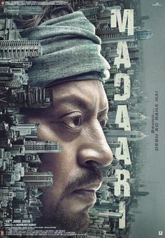 The first poster of Irrfan Khan Starrer upcoming film Madaari is out. Crea Design, Illustrator, Irrfan Khan, Plakat Design, Design Poster, Branding, Creative Posters, Hindi Movies, Upcoming Movies
