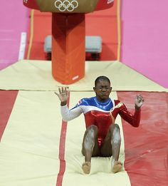 Can we just have some appreciation for the first woman from the Dominican Republic, in Olympics Gymnastics. Who attempted the hardest vault for women with a difficulty of 7.1A handspring double front. Unfortunately she didn't land it.