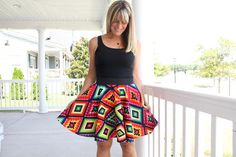 Good Vibrations Circle Skirt Pattern | AllFreeSewing.com