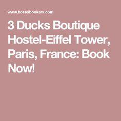 3 Ducks Boutique Hostel-Eiffel Tower, Paris, France: Book Now!