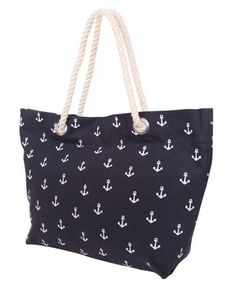 I just bought this tote to use as my summer diaper bag!  It holds tons of things and it's fashionable!  I could also use it at the beach :)  Love.