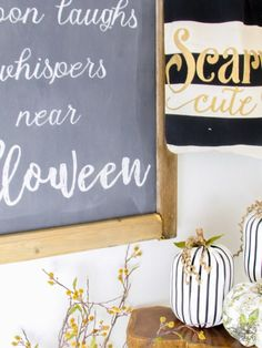 Halloween Entry, Halloween Decorating, Classy Halloween Decor - Pocketful of Posies