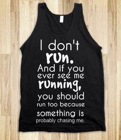 Running  Funny tshirt