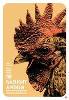 Gaslight Anthem Poster - John Varvatos 315 Bowery, New York City - Scarlet Rowe