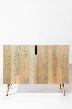 Iveta Abolina Farmhouse Peach Credenza | DENY Designs Home Accessories