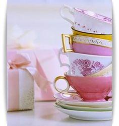 tea table decor Brunch