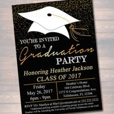 Diy graduation invitation party ideas pinterest graduation editable graduation party invitation high school graduation invitation diy digital invite college graduation filmwisefo