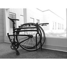 Montague Boston (single speed). #realbikesthatfold #foldingbike