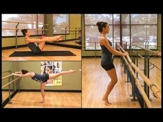 Barre Workout Video - FREE 40 Minute Barre Workout Video At Home - Fitness and Exercises Ballet Barre Workout, Barre Workout Video, Barre Exercises At Home, Cardio Barre, Home Workout Videos, Bar Workout, 20 Minute Workout, Insanity Workout, Pilates Workout