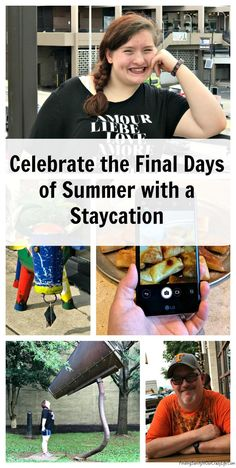 Celebrate the final days of summer with a staycation and find out how you can save money so you can pay for your staycation. #SummerisforSavings @familymobile #AD