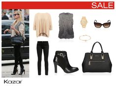 Trendy outfit inspired by Reese Witherspoon.