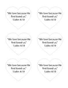 valentines day bible craft - Christian Valentine Crafts