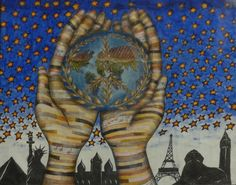 Merit Award Winner Paige Bullock from Oregon USA: Lions Clubs International 2012-2013 Peace Poster Contest