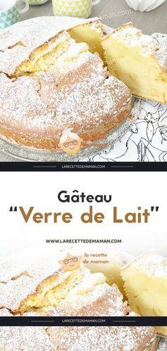 "Glass of Milk Cake - Mom's Recipe-Gâteau ""Verre de Lait"" – La Recette de maman Glass of Milk Cake – Mom's Recipe - Recipe To Use Up Milk, Recipe For Mom, Mom's Recipe, Gateau Cake, St Patricks Day Food, Milk Cake, Glass Cakes, New Cake, Pastries"
