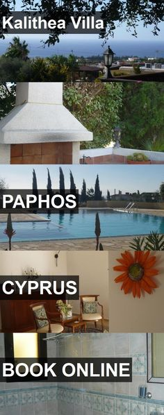 Hotel Kalithea Villa in Paphos, Cyprus. For more information, photos, reviews and best prices please follow the link. #Cyprus #Paphos #travel #vacation #hotel
