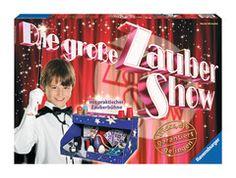 Die große Zaubershow, Zauberkasten von Ravensburger, ab 8 Jahre Lidl Online, Broadway Shows, Tricks, Internet, Products, Shopping, Crates, Wizards, Wand