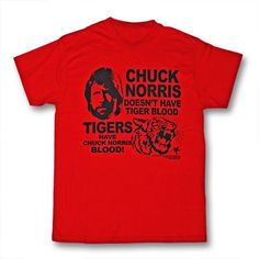 Chuck Norris Tiger Blood T-Shirt now available from http://www.karatemart.com