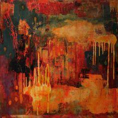 "Saatchi Art Artist Katherine Treffinger; Painting, ""Summer Rain"" #art"