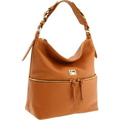Dooney & Bourke Dillen in Desert  - Those that have known me for a long time, had to have known this was coming!  :)  I'm a Dooney girl.... had a short love affair with Coach, but my heart belongs to Dooney!