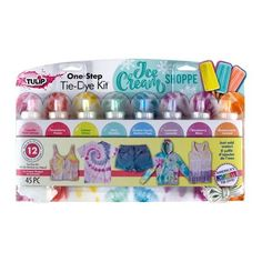 The Official Store for Tulip Tie-dye Products. Learn how to tie dye with our easy instructions and various techniques. Create all your favorite tie-dye designs with 1 kit. Tie Dye Supplies, Tulip Tie Dye, Tulip Colors, Pastel Colors, Vibrant Colors, Diy Tie Dye Shirts, Tie Dye Kit, Tie Dye Crafts, Tie Dye Colors