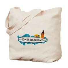 Amelia Island - Beach Design. Tote Bag on CafePress.com