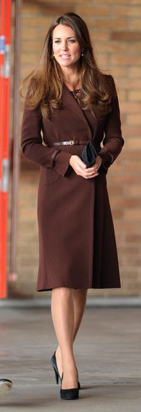 Catherine, Duchess of Cambridge arrives at the National Fishing Heritage Centre on March 5, 2013 in Grimsby, England. The pregnant Duchess of Cambridge is spending the day visiting Grimsby in the North East of England. (March 4, 2013 - Source: Chris Jackson/Getty Images Europe)