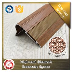 Anti-slip aluminum rounded stair nosing strips with factory price