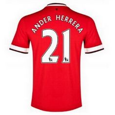 Equipacion Ander Herrera Manchester United primera 2014-2015