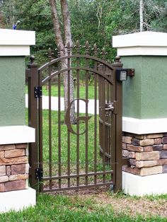 elegant garden gates | Custom Wrought Iron and Aluminum