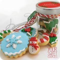 Christmas Cookiess http://instagram.com/yoursweetcookiess