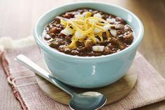 Slow Cooker Chili With Ground Beef
