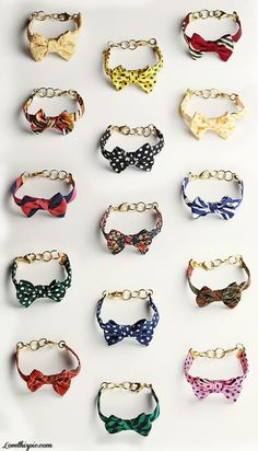 Vickers Bow Bracelets  fashion girly cute beautiful bracelets cool pretty bow style accessories